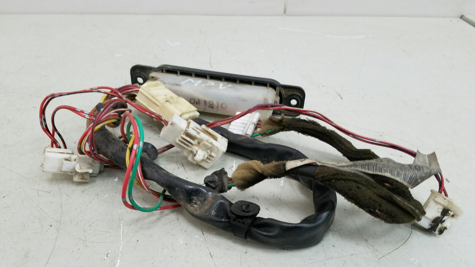 Проводка шлейф коса двери Mazda Mpv 2 JP FS 2003 задняя
