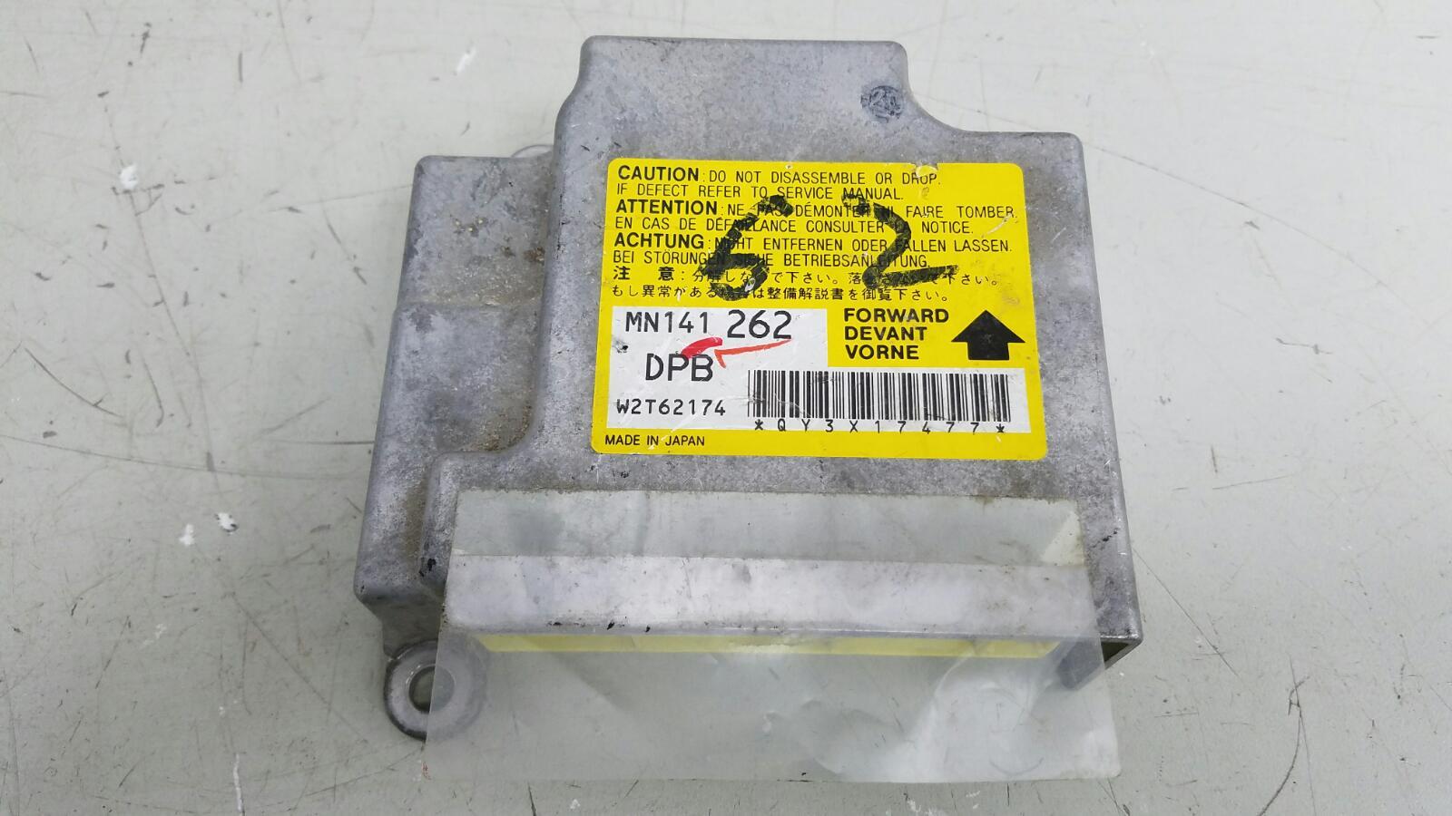 Блок управления srs airbag Mitsubishi Lanser 9 CSA 4G18 2003