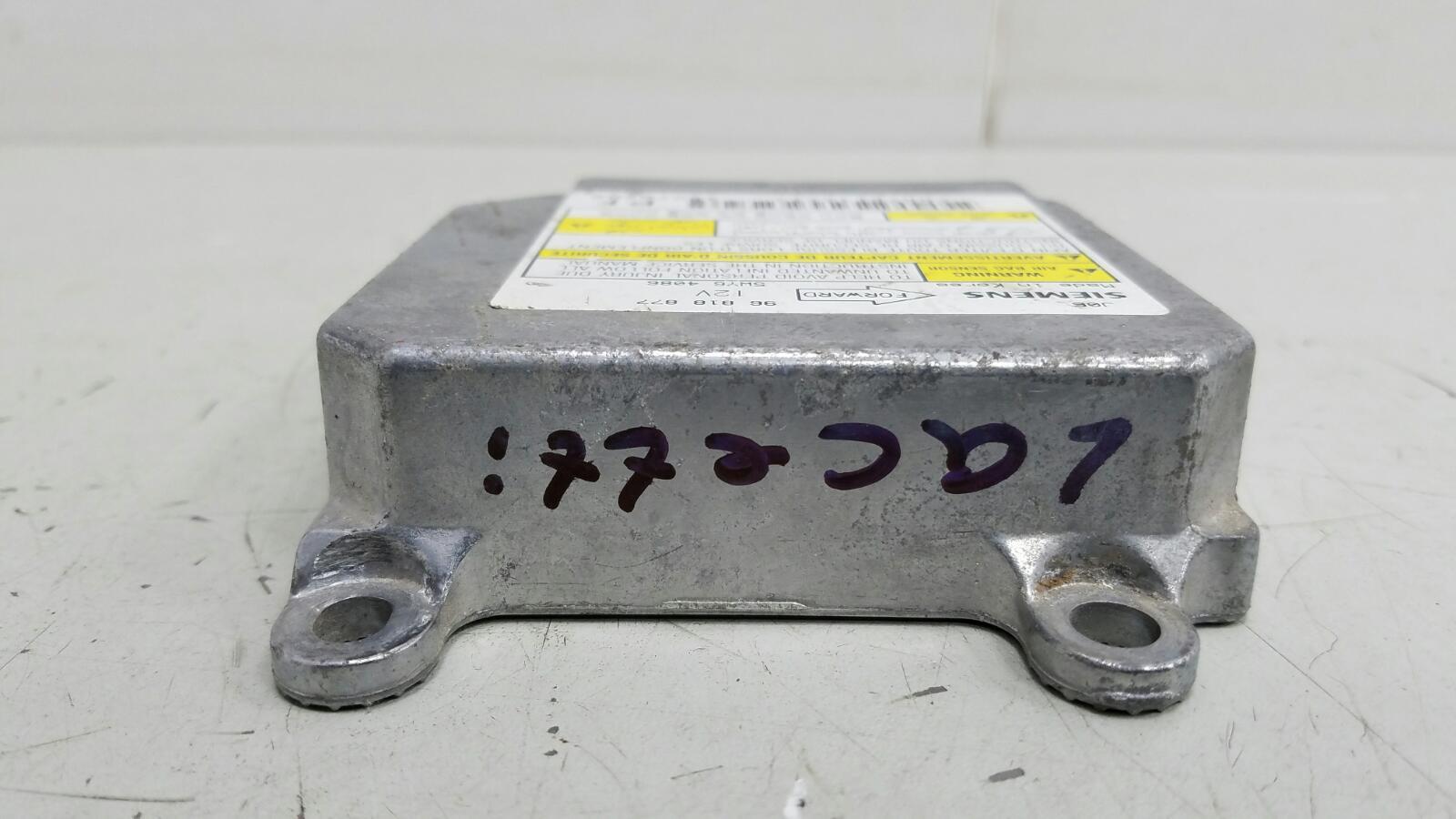 Блок управления srs airbag Chevrolet Lacetti J200 F14D3 2007