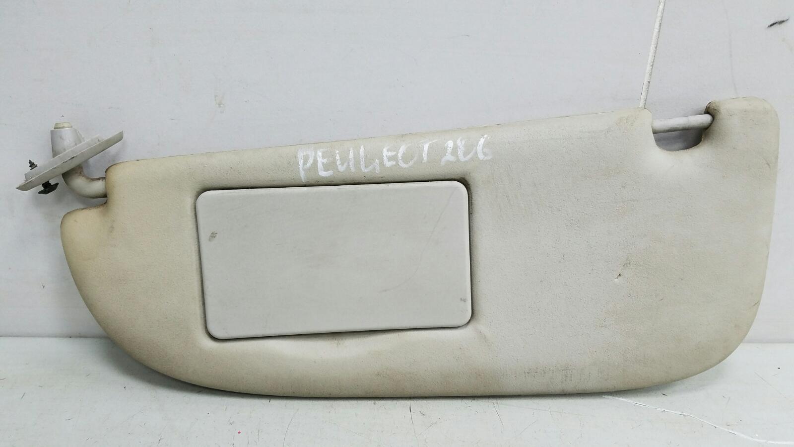 Козырек солнцезащитный Peugeot 206 2B KFW 2008 правый