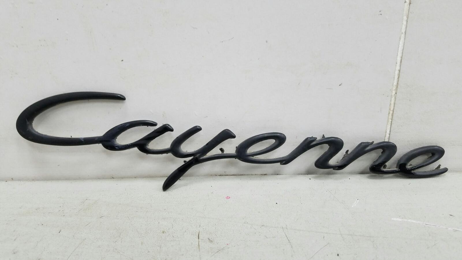 Эмблема Porshe Cayenne 955 BMV M02.2Y 3.2Л 2005
