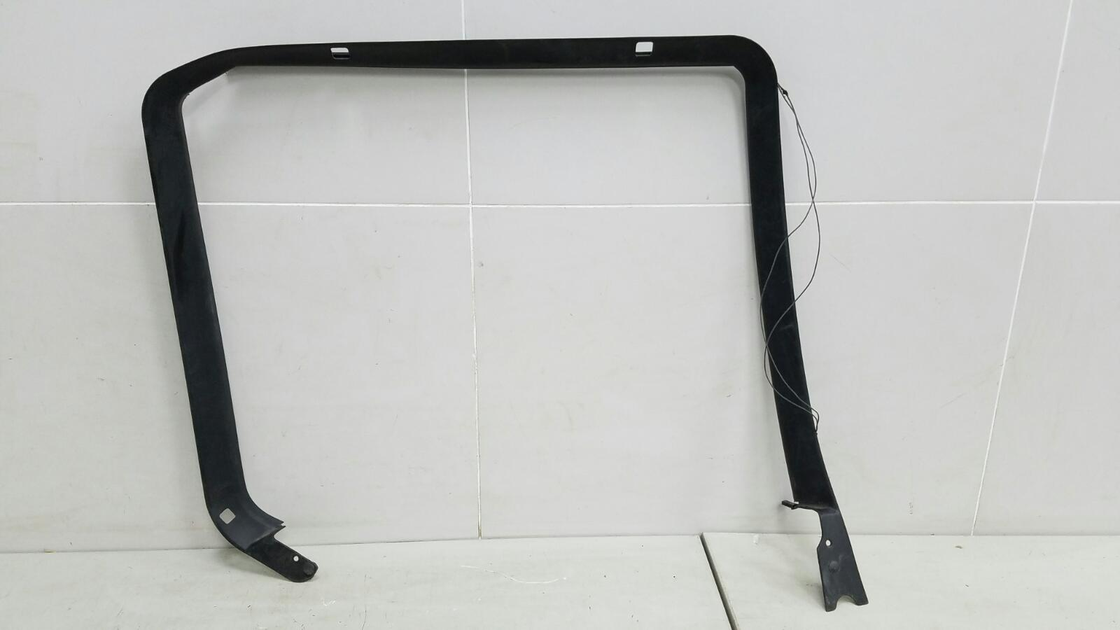 Накладка рамки стекла двери внутренняя Bmw X5 E53 M62 1999 задняя