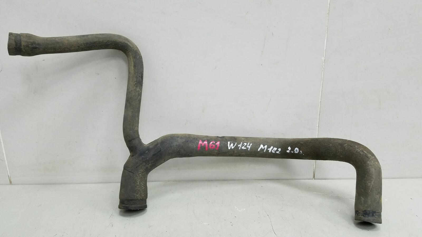 Патрубок радиатора Mercedes E200 W124 M102.922 1988