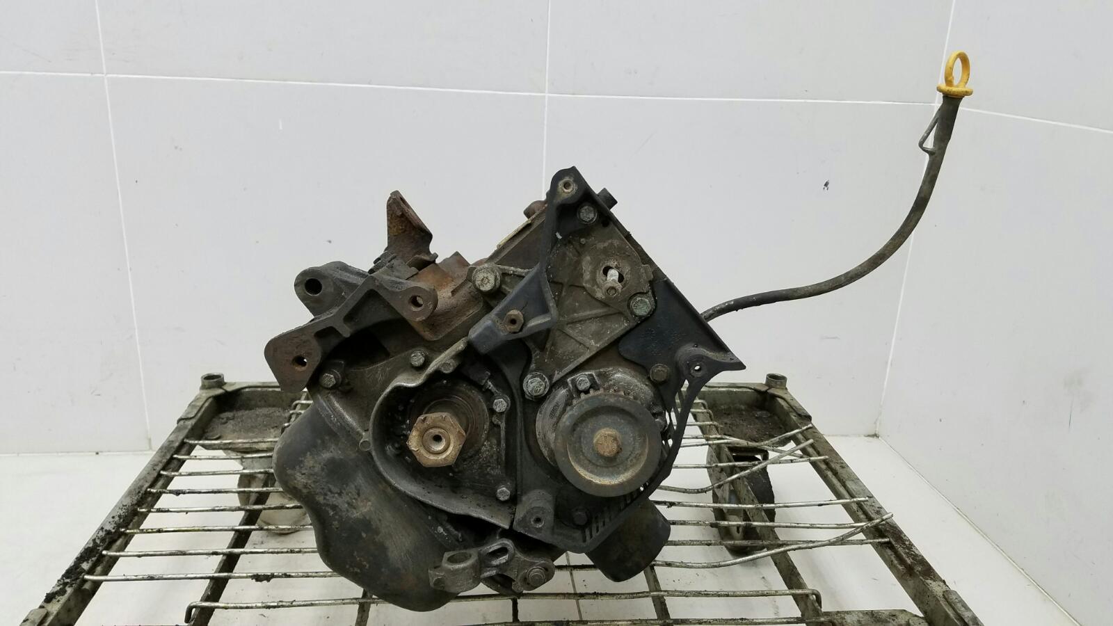 Блок двигателя двс в сборе Fiat Marea 185 182 A4.000 1.6Л 1997