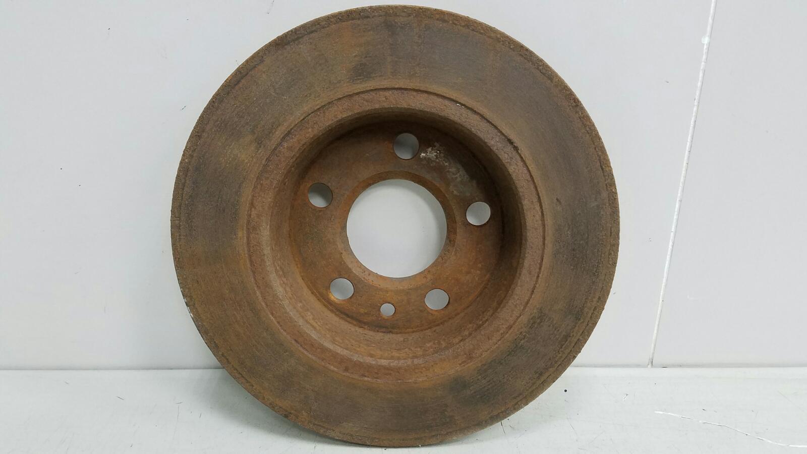 Тормозной диск Volkswagen Sharan 7M8 AMY 1999 задний левый