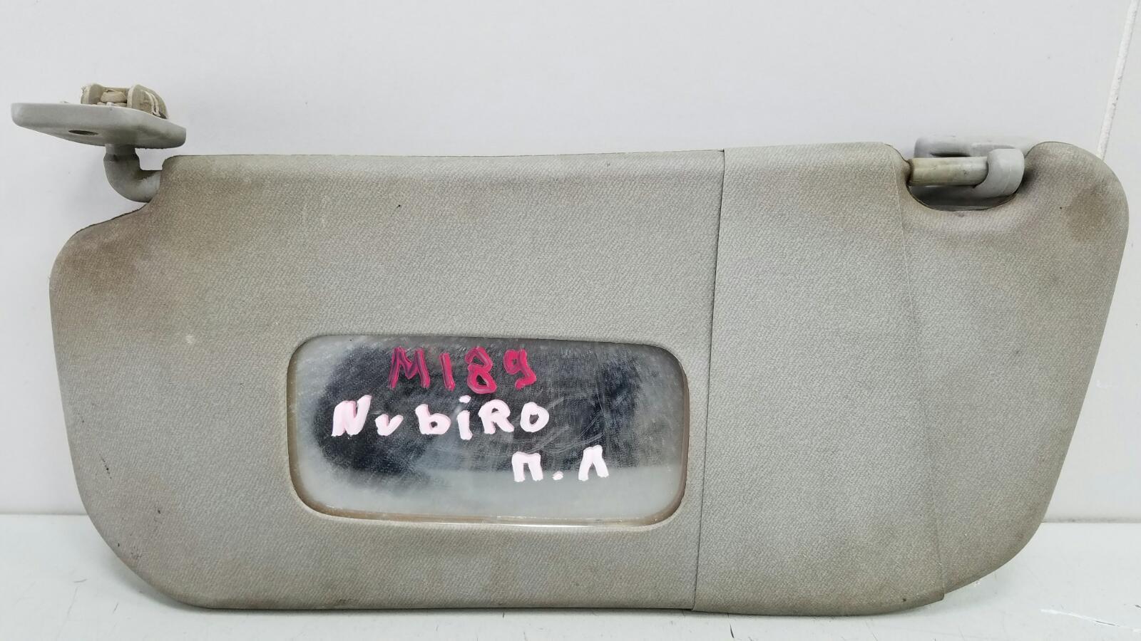 Козырек солнцезащитный Daewoo Nubiro KLAJ X20SED 2.0Л 1999 передний левый