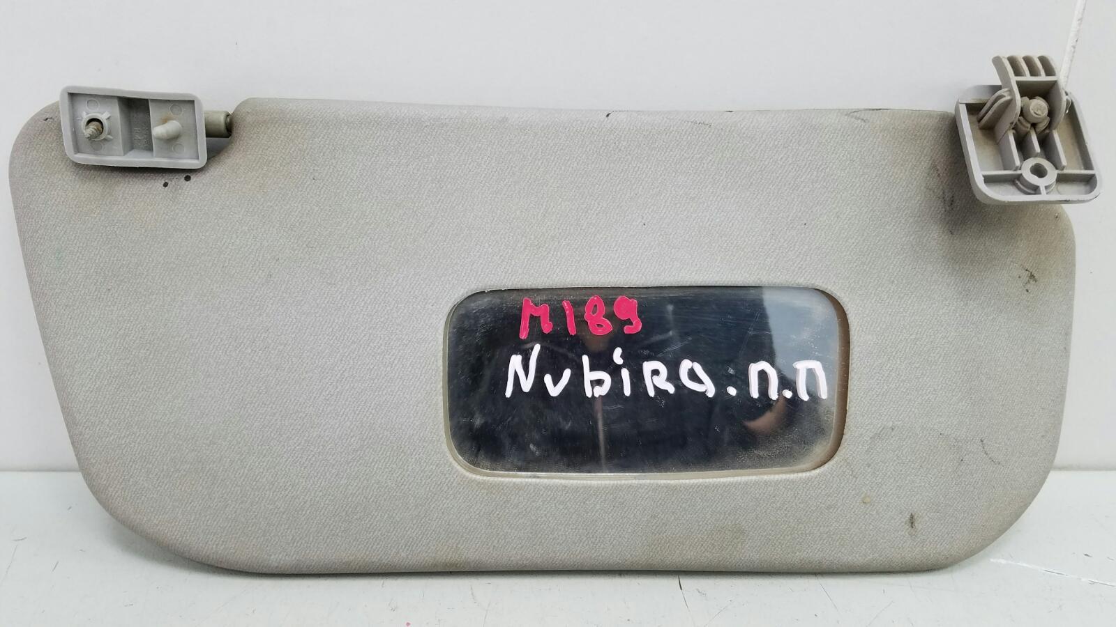 Козырек солнцезащитный Daewoo Nubiro KLAJ X20SED 2.0Л 1999 передний правый