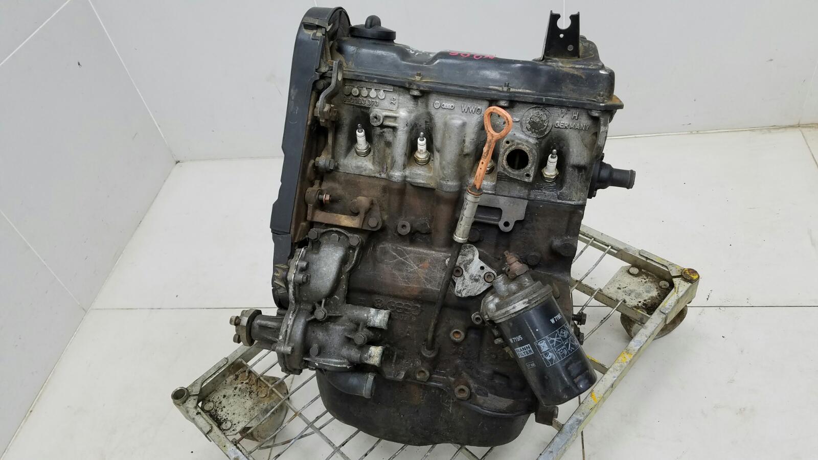 Двигатель двс Audi 80 B3 YN 1.8Л 1990