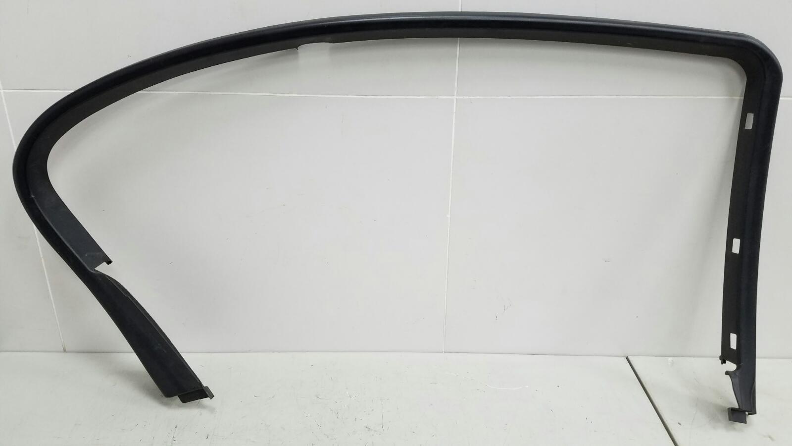 Накладка рамки двери Bmw 745I E65 N62B44A 4.4Л 2002 задняя левая