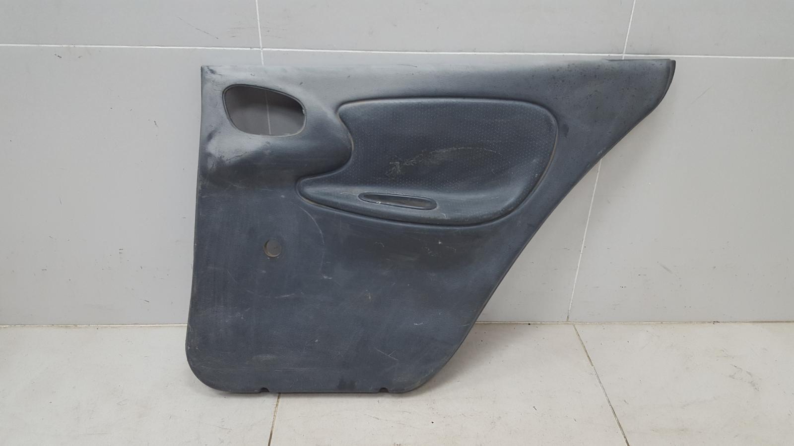 Обшивка карта двери Chevrolet Lanos T100 A15SMS 2007 задняя правая