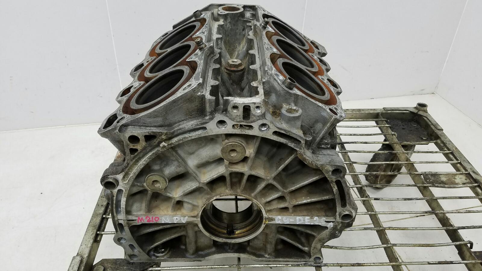 Блок двигателя двс Mazda Mpv 2 LW GYDE 2.5Л 2001