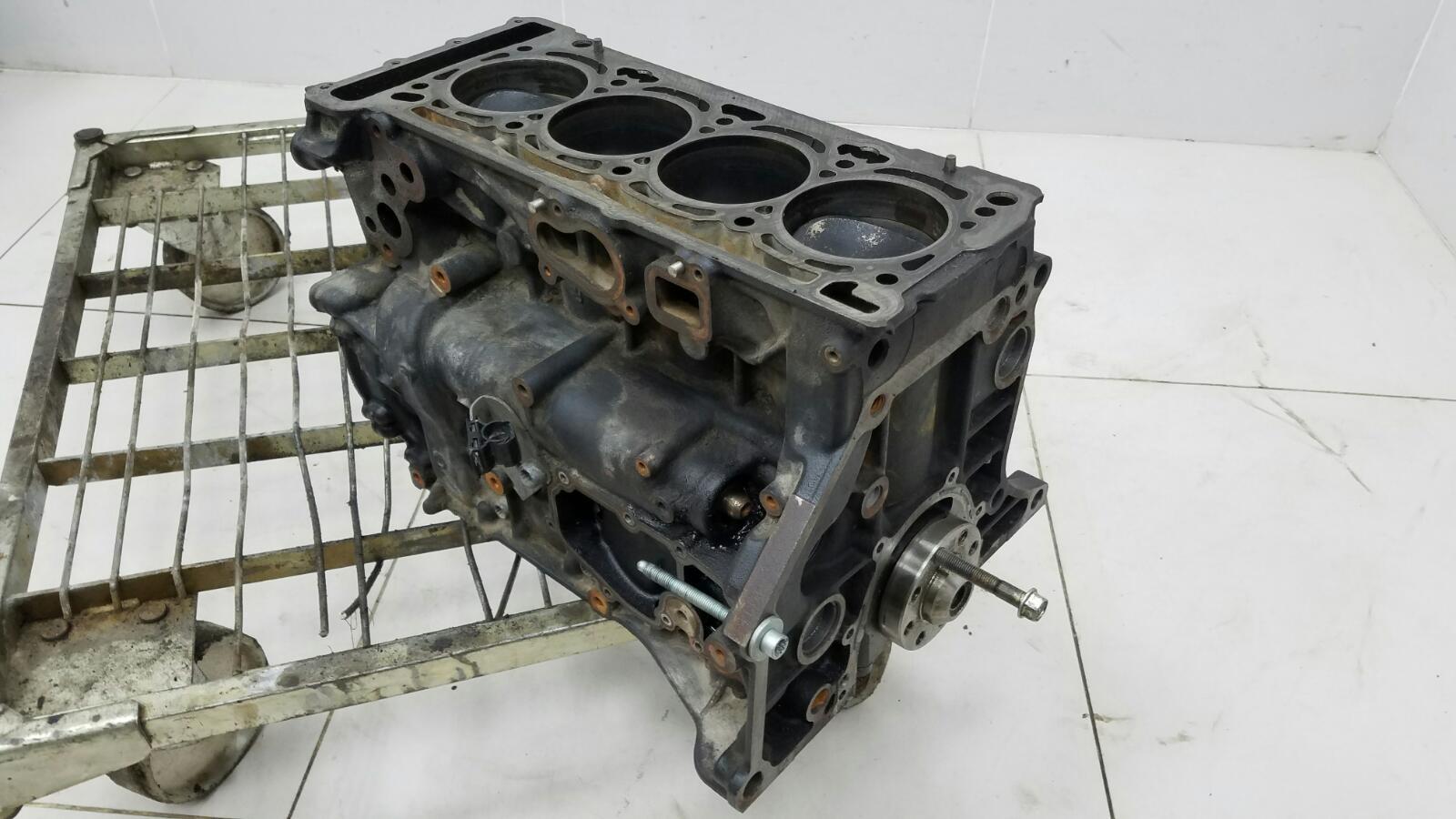 Блок двигателя двс в сборе Skoda Octavia 1Z5 TFSI 2010
