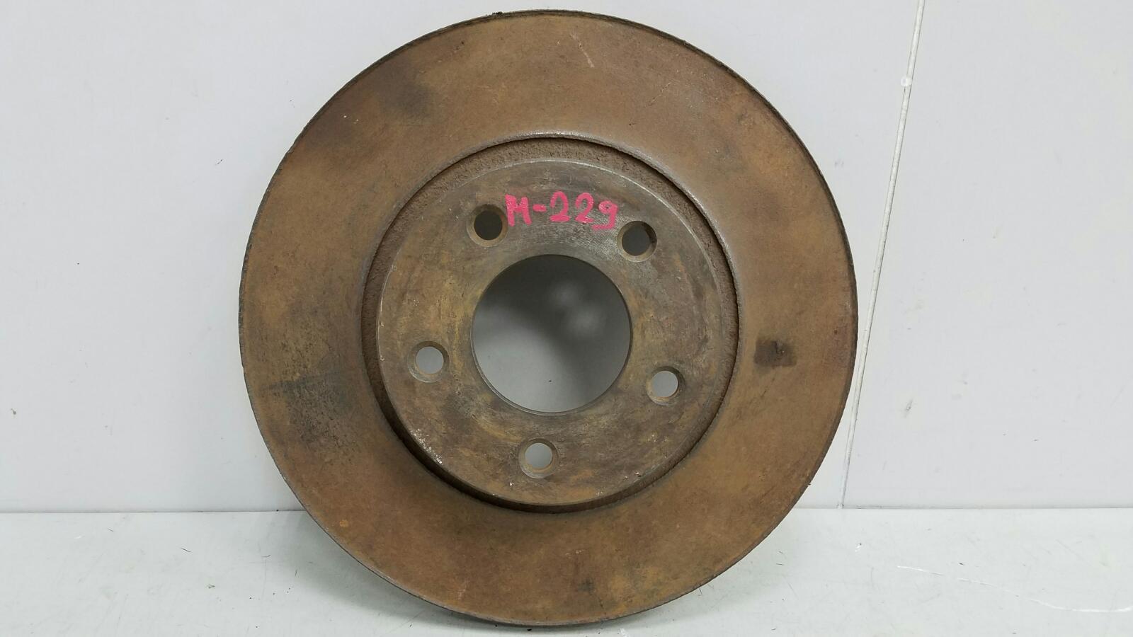 Тормозной диск Газ Волга 3110 402 передний