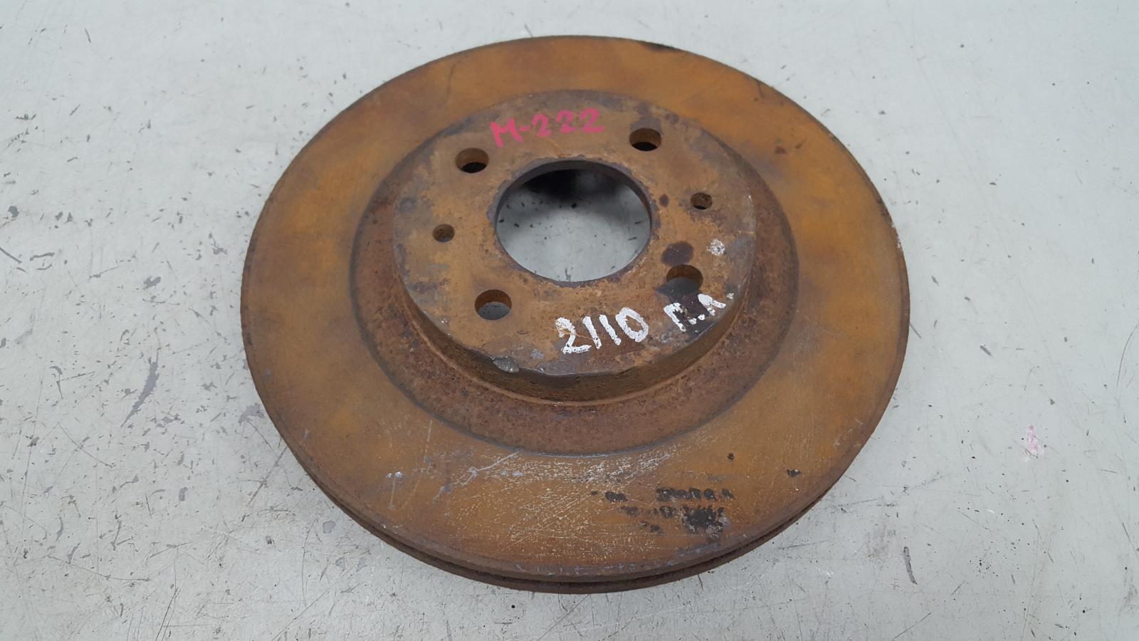 Тормозной диск Ваз Лада Приора 2170 2007 передний левый