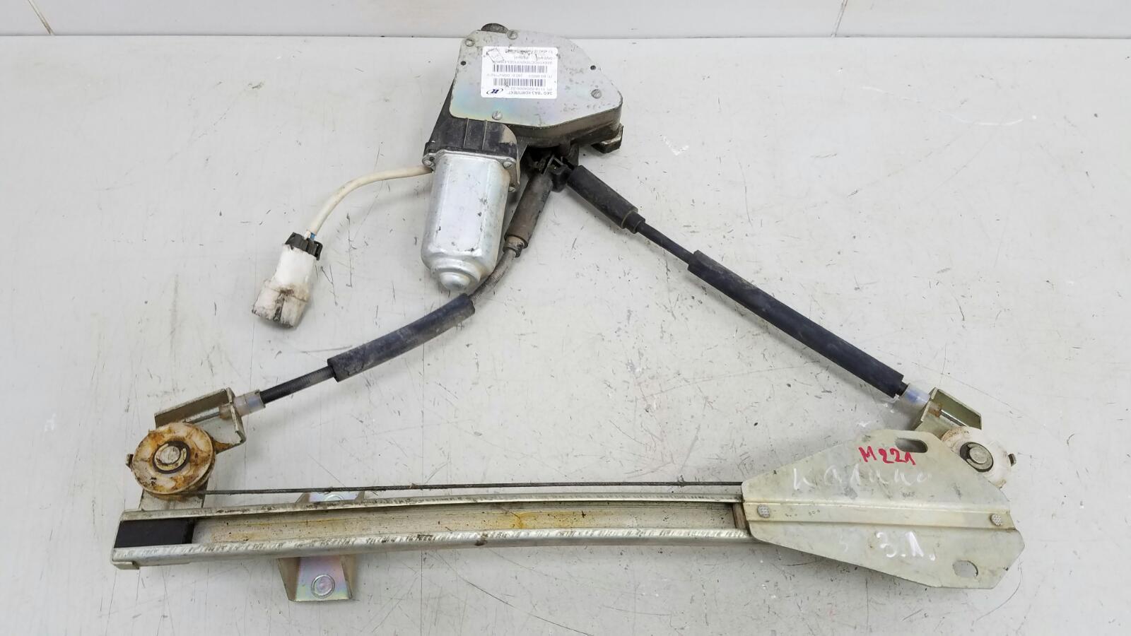 Стеклоподъемник электрический Ваз Лада Калина 1118 1.4Л 16КЛАПАНОВ 2004 задний левый