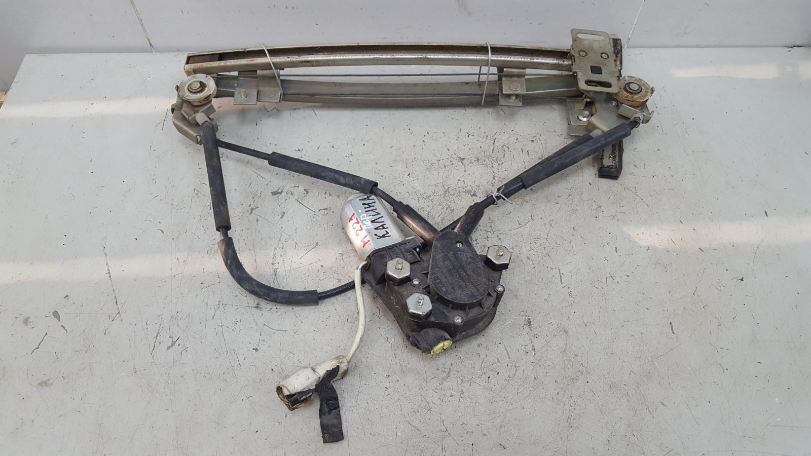 Стеклоподъемник электрический Ваз Лада Калина 1118 1.4Л 16КЛАПАНОВ 2004 передний левый