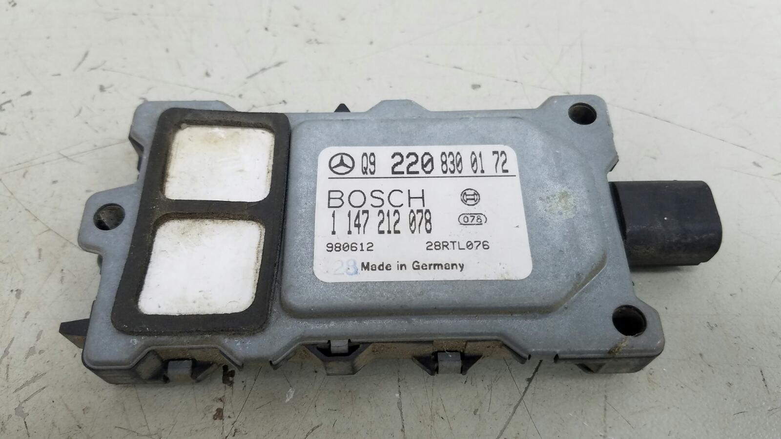 Датчик качества воздуха Mercedes S500 W220 M113.960 2001