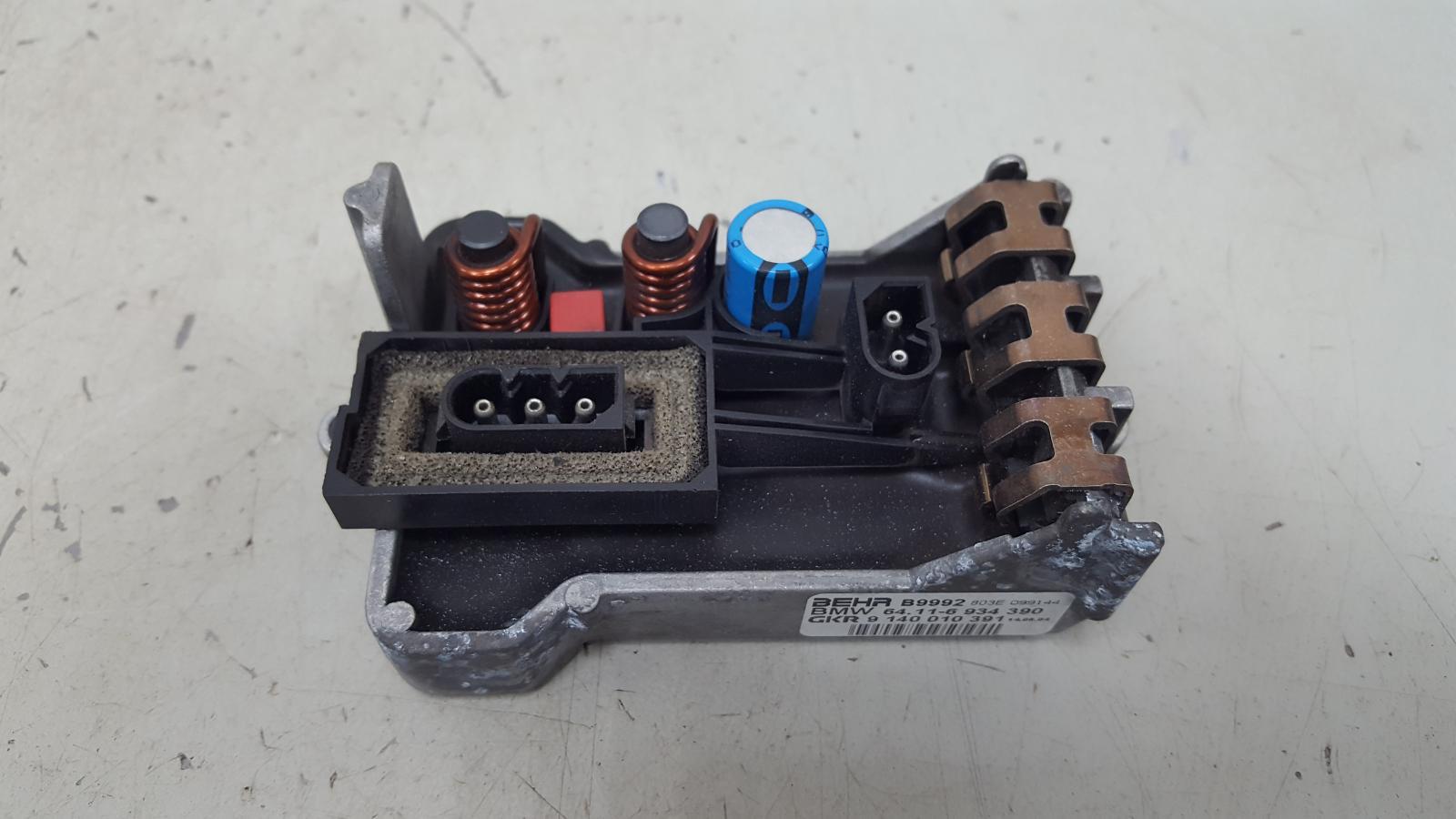 Резистор реостат печки Bmw 745 I Li E65 N62 2001