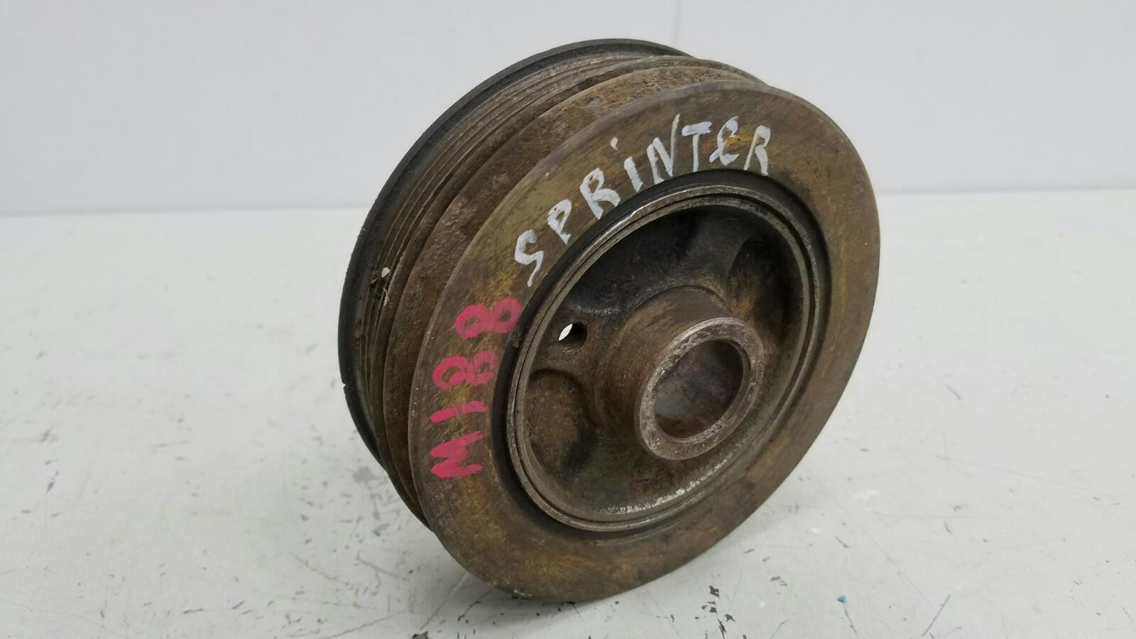 Шкив коленвала Toyota Sprinter AE81 3ALU 1.5Л 1986
