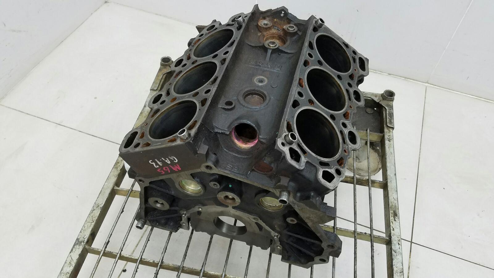 Блок двигателя двс Mitsubishi Galant EAA 6A13 1998