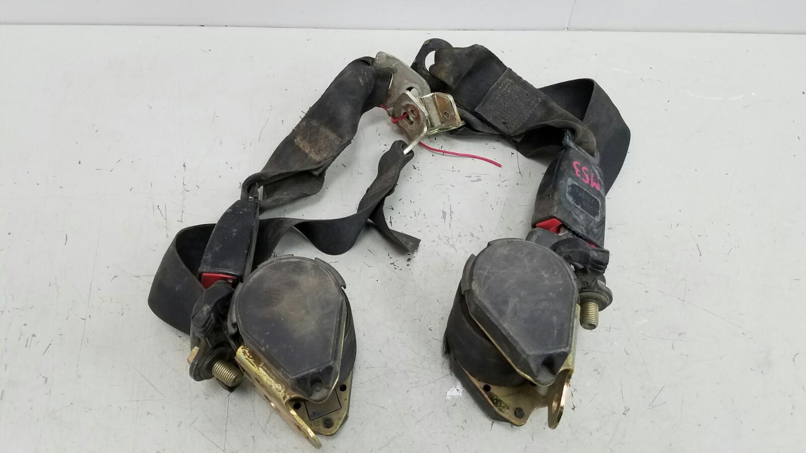 Комплект ремней безопастности Mercedes C180 W202 M111.920 1996 задний