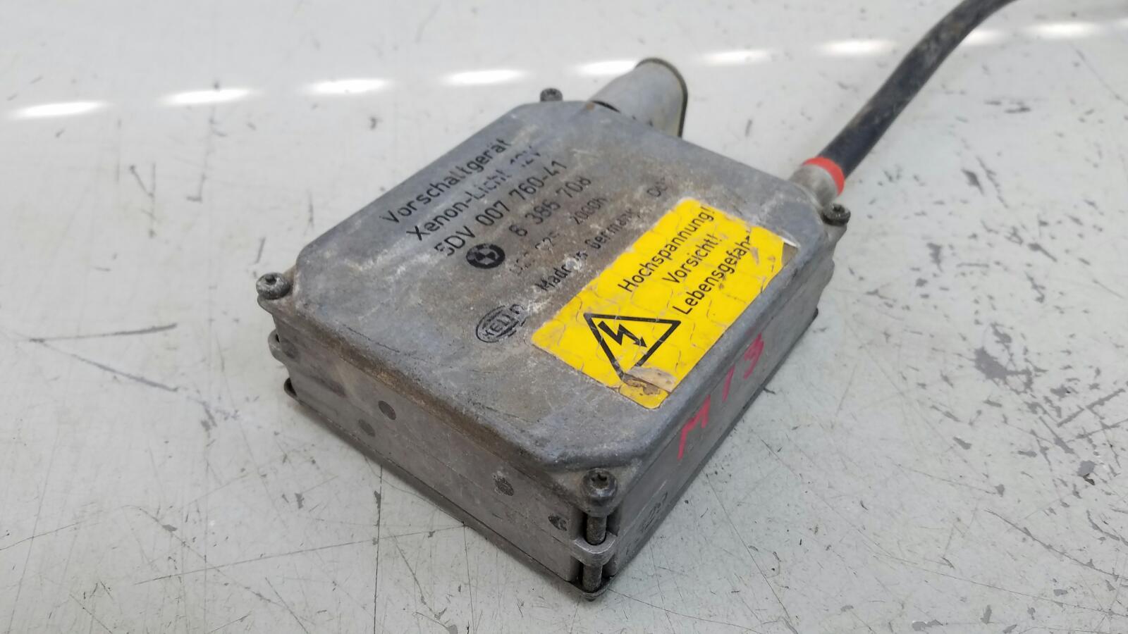 Блок розжига ксенона Bmw X5 E53 M62 1999