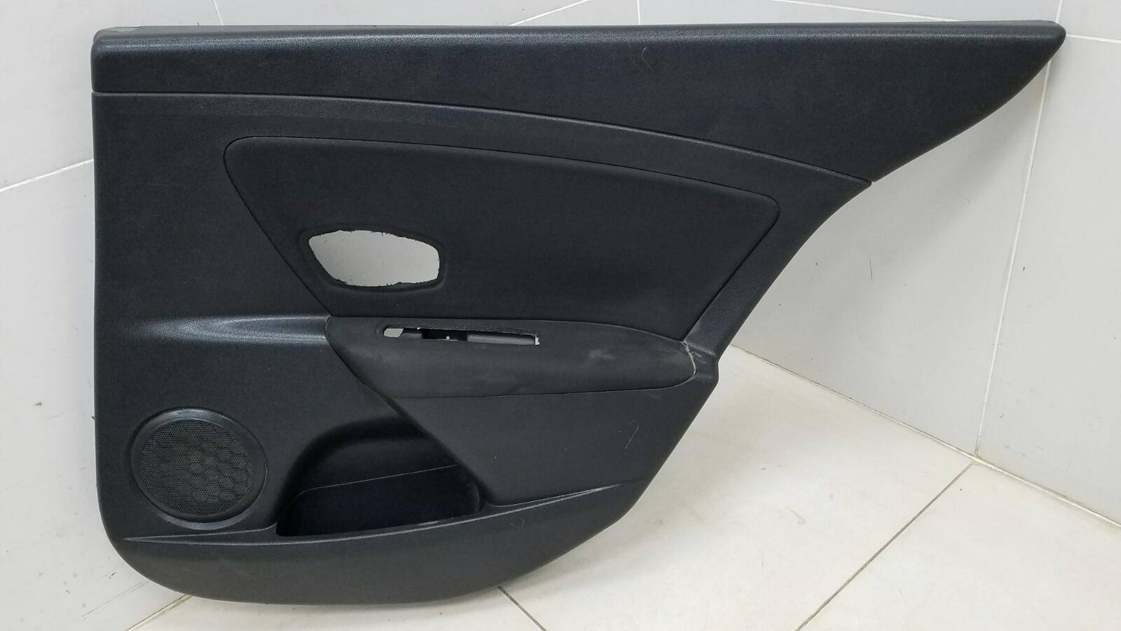 Обшивка карта двери Renault Fluence L30 K4M 2012 задняя правая