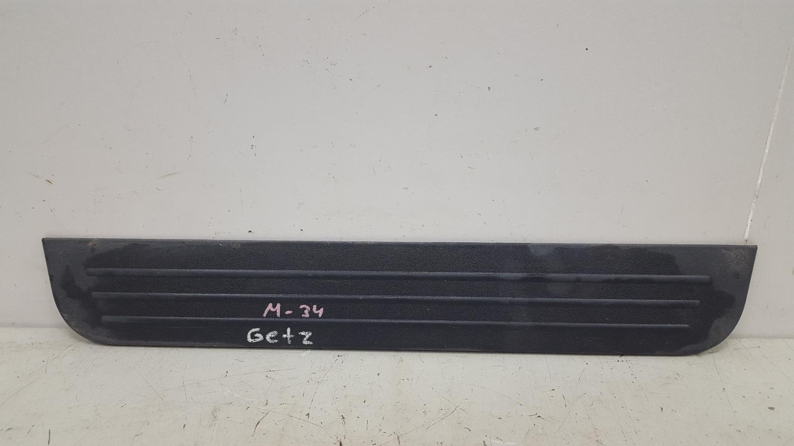 Накладка порога внутренняя Hyundai Getz TB G4EE 2009
