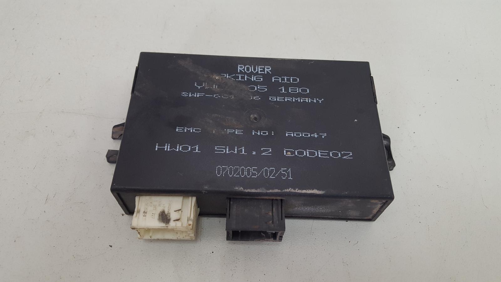 Эбу электронный блок Rover 75 RJ 18K4F 1.8Л 2000