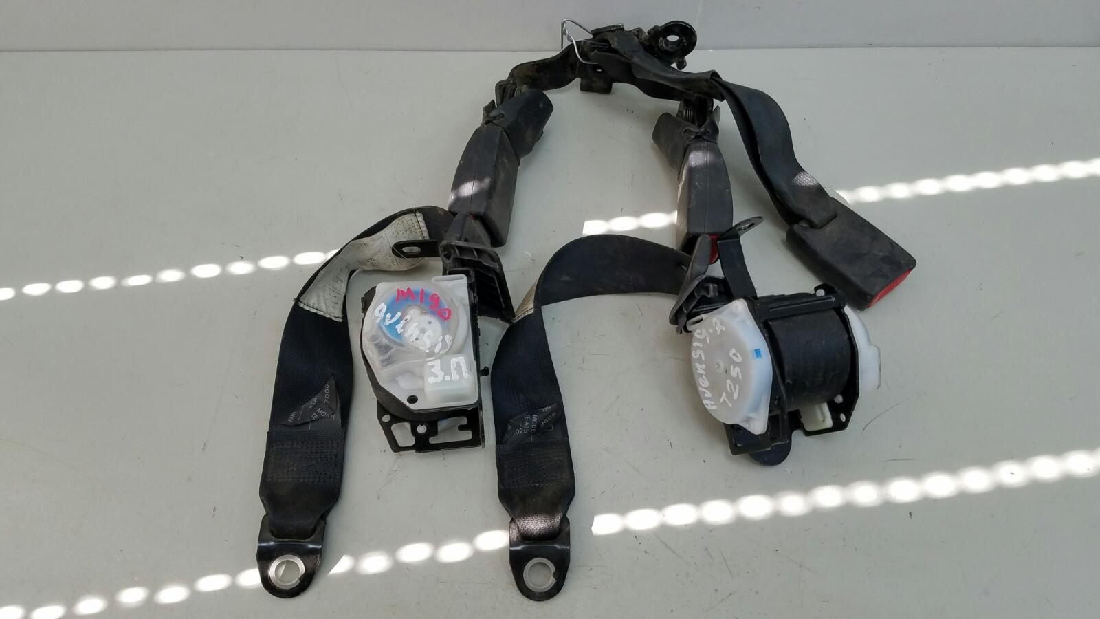 Комплект ремней безопастности Toyota Avensis 2 T250 1ZZ-FE 1.8Л 2008 задний