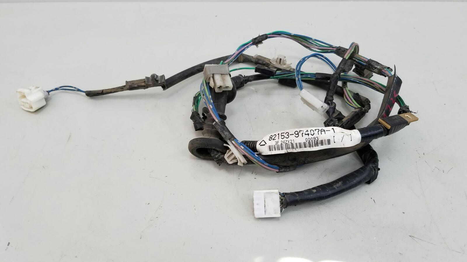 Проводка шлейф коса двери Daihatsu Storia M100S EJ 1Л 2003 задняя правая