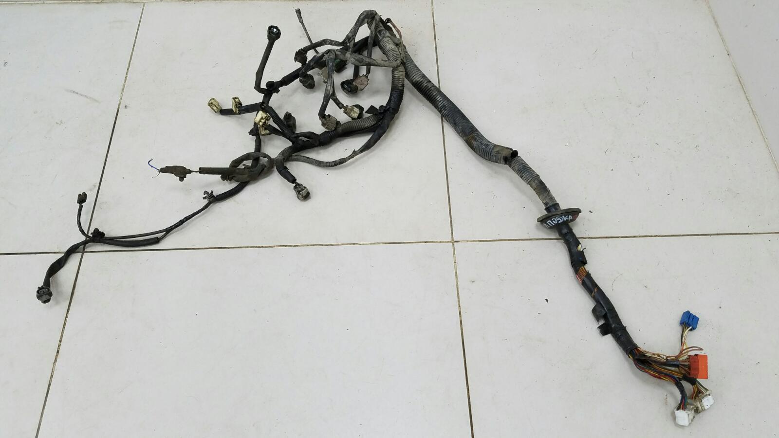 Проводка шлейф коса двигателя двс Daihatsu Storia M100S EJ 1Л 2003