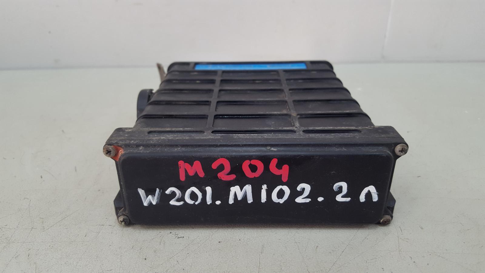 Блок управления двигателем двс эбу Mercedes A190 W201 M102.961 2.0Л 1984