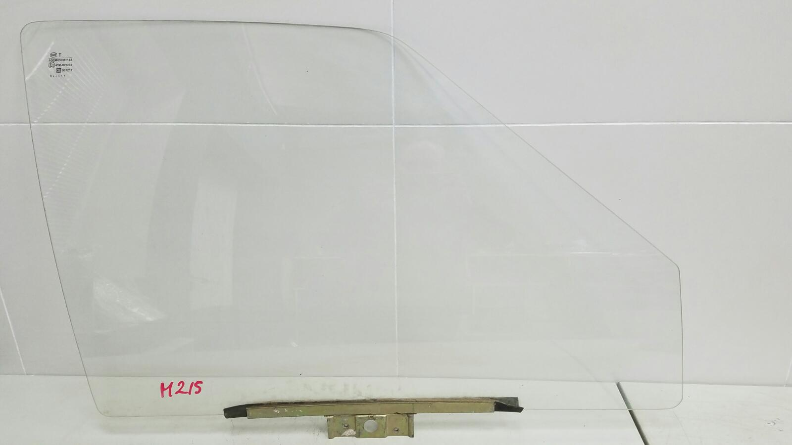 Стекло двери Ваз Лада Самара Спутник 2109 1987 переднее правое