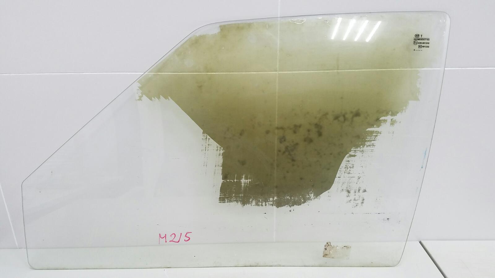 Стекло двери Ваз Лада Самара Спутник 2109 1987 переднее левое