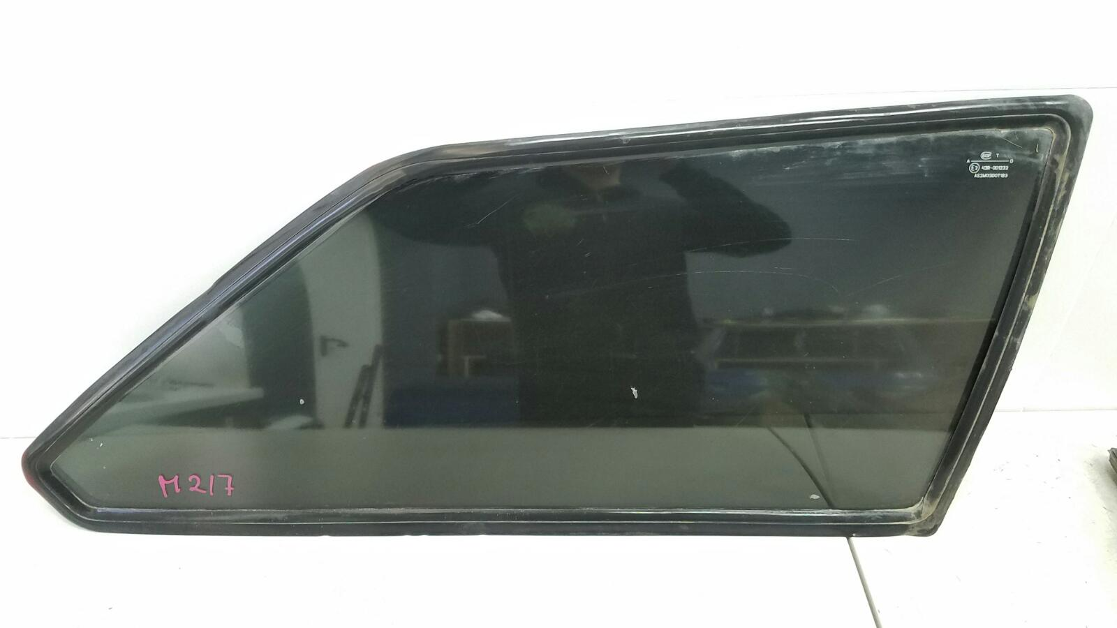 Стекло кузовное глухое Ваз Лада Самара Спутник 2108 1984 заднее левое
