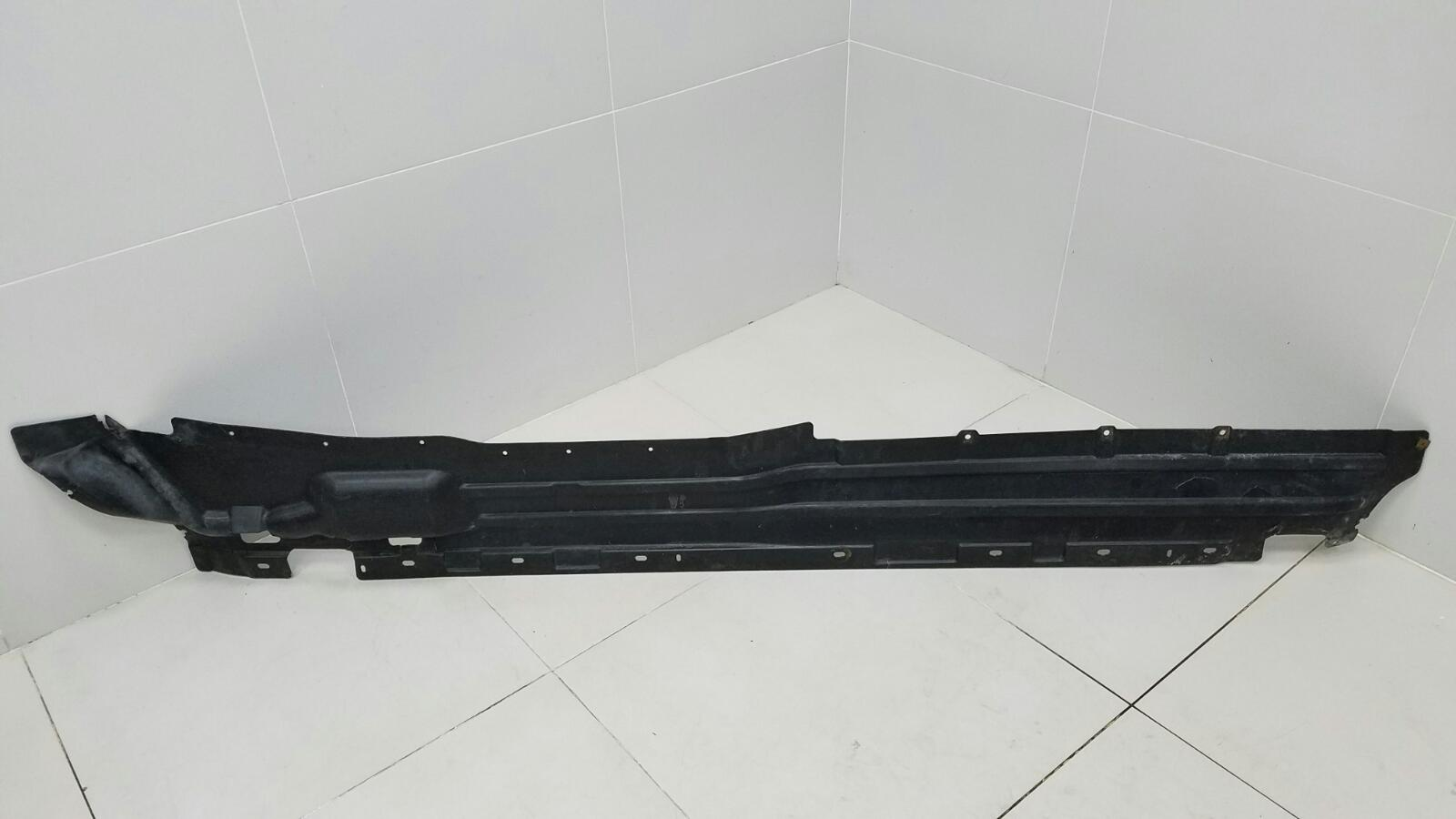 Защита днища антигравийная Bmw X5 E53 M62 1999 левая