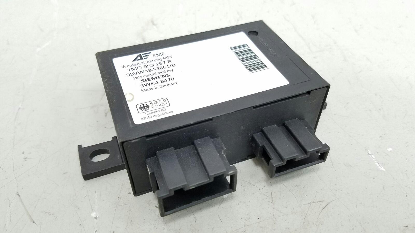 Блок управления эбу автосигнализации Volkswagen Sharan 7M8 AMY 1999