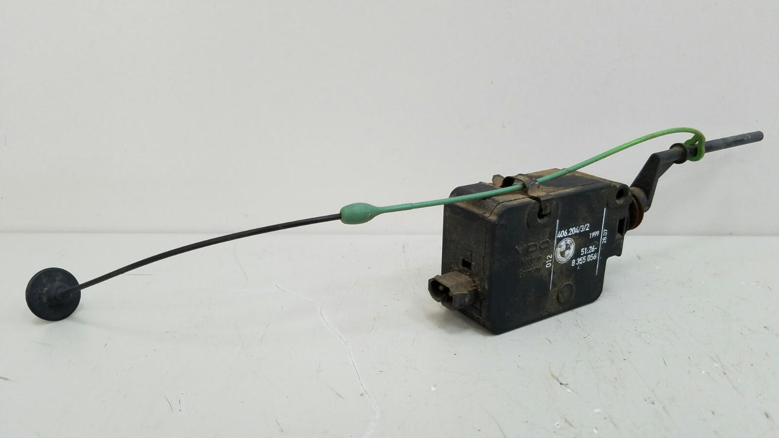 Активатор лючка бензобака Bmw X5 E53 M62 1999