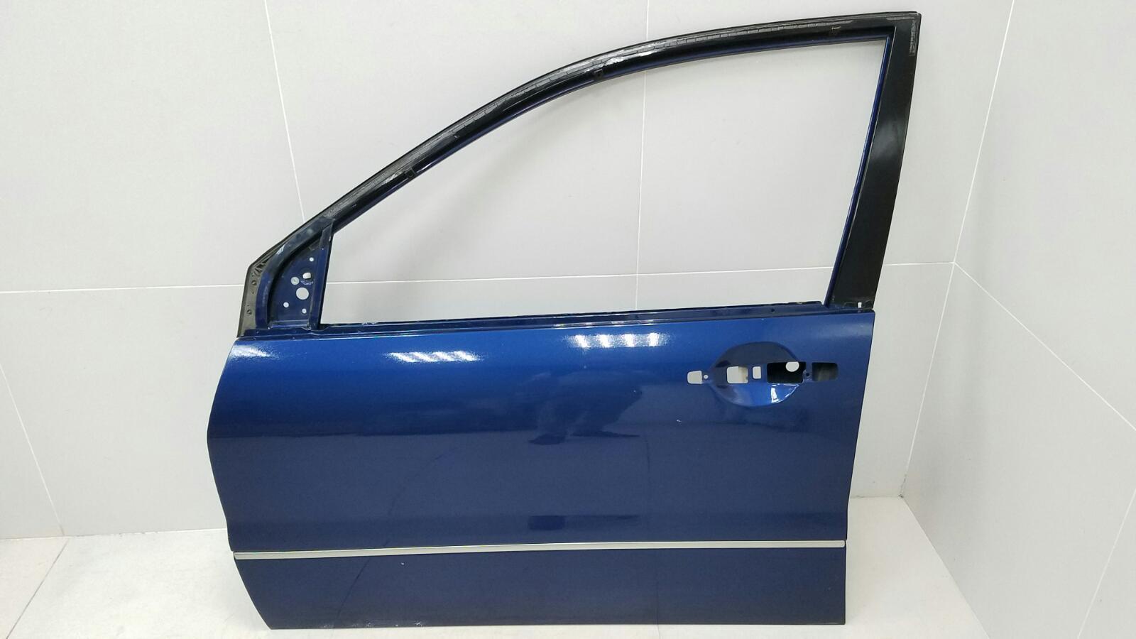 Дверь Mitsubishi Lancer Cedia CS2A 4G15 2002 передняя левая