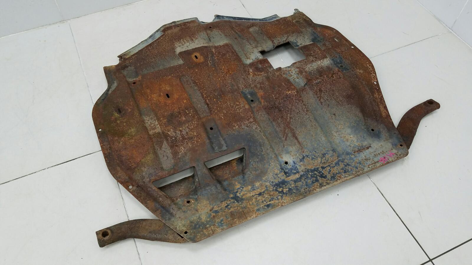 Защита двигателя железная Skoda Octavia 1U2 AKL 1.6Л 2003