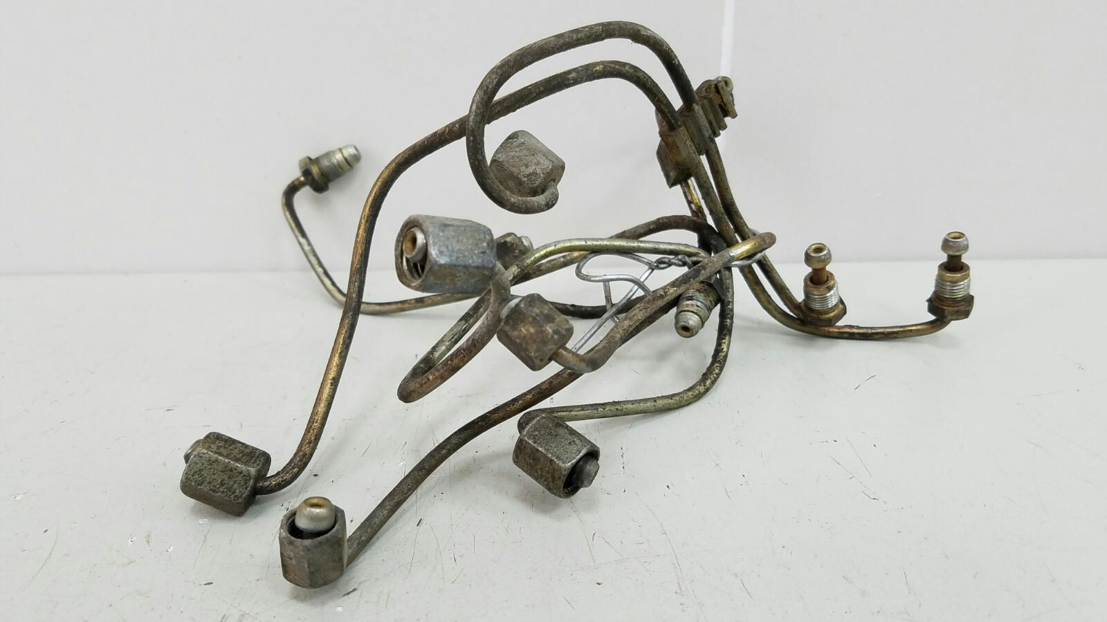Трубки топливные ке-джетроник ke-jetronic Mercedes A190 W201 M102.961 2.0Л 1984
