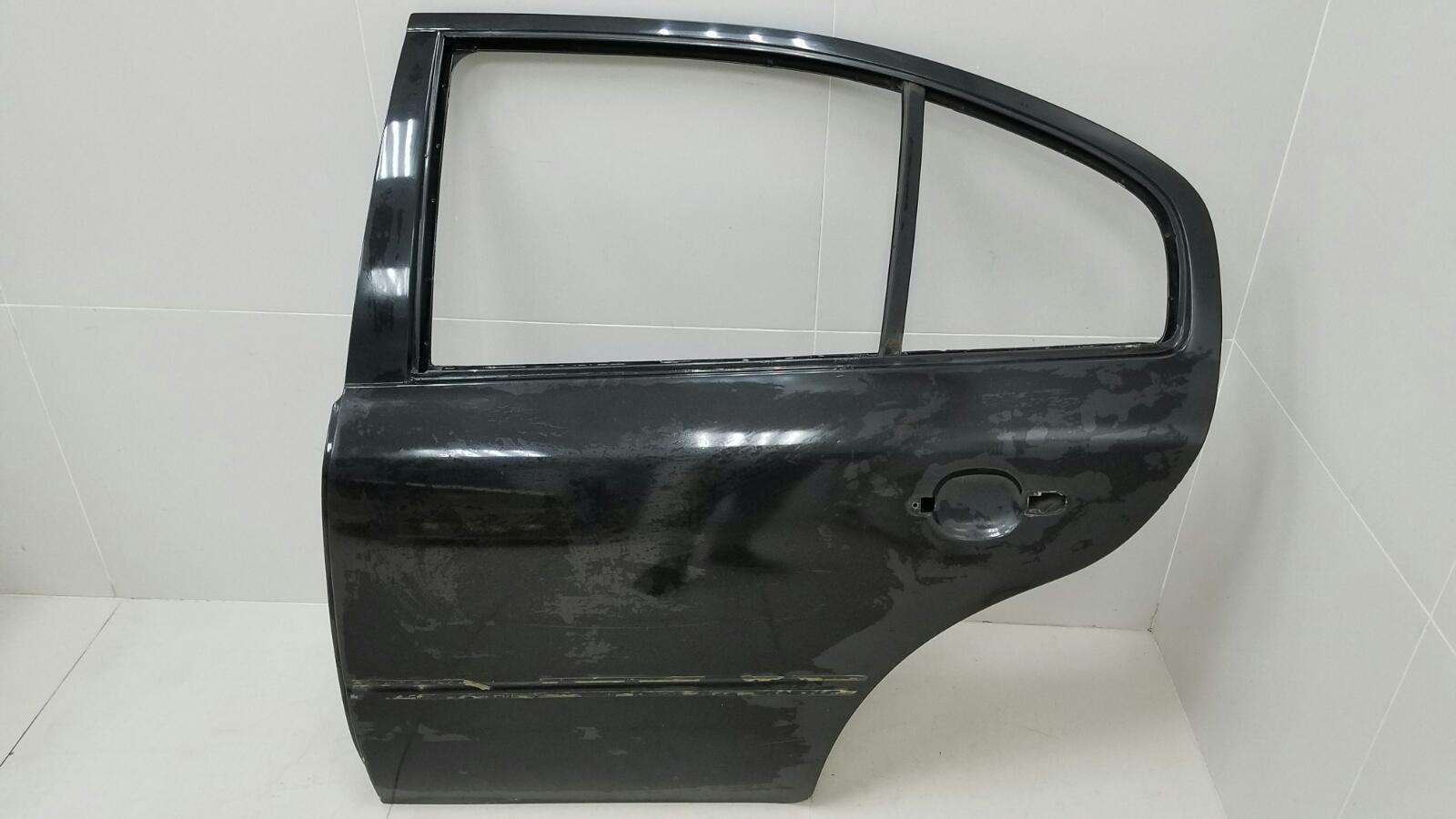 Дверь Skoda Octavia 1U2 AKL 1.6Л 2003 задняя левая