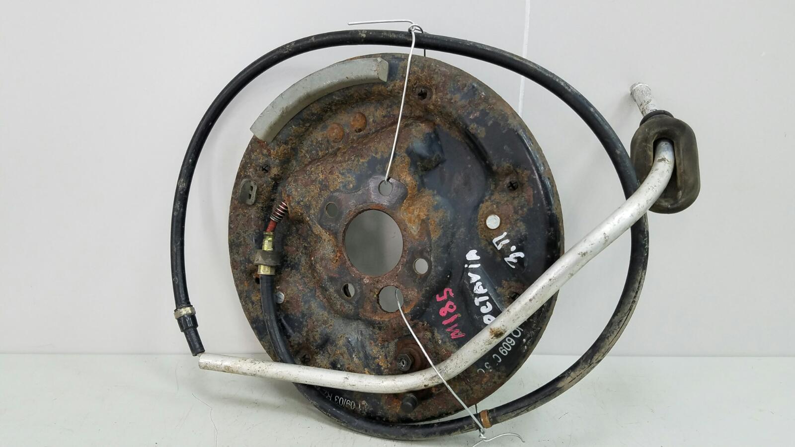 Механизм развода колодок ручника Skoda Octavia 1U2 AKL 1.6Л 2003 задний правый