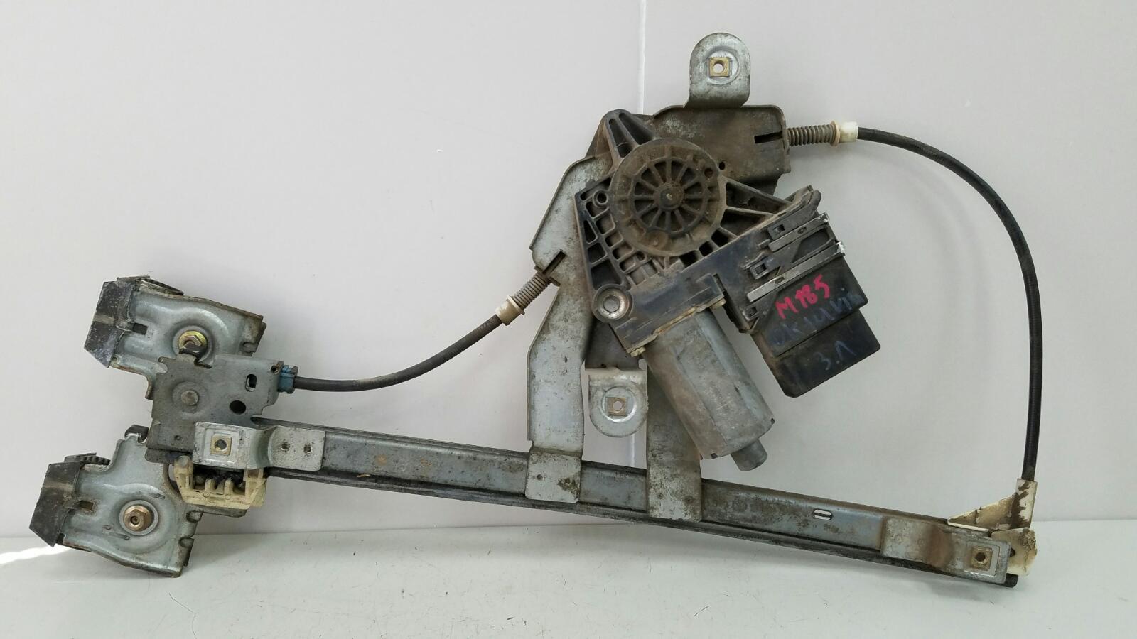 Стеклоподъемник электрический Skoda Octavia 1U2 AKL 1.6Л 2003 задний левый