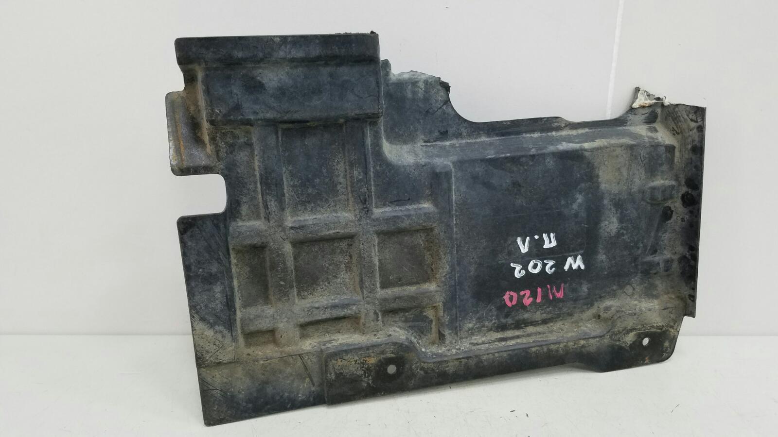 Защита двигателя железная Mercedes C280 W202 M104.941 1998 передняя левая
