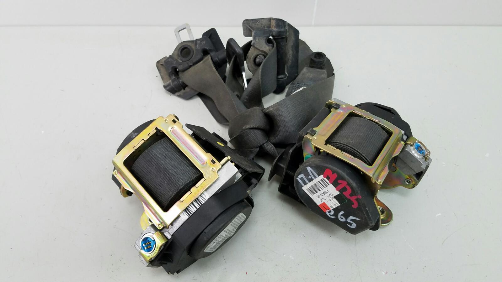 Комплект ремней безопастности Bmw 745 I Li E65 N62 2001 передний