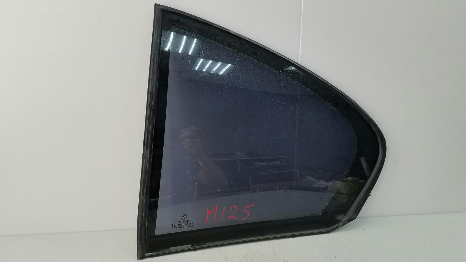 Стекло двери Bmw 745 I Li E65 N62 2001 заднее левое