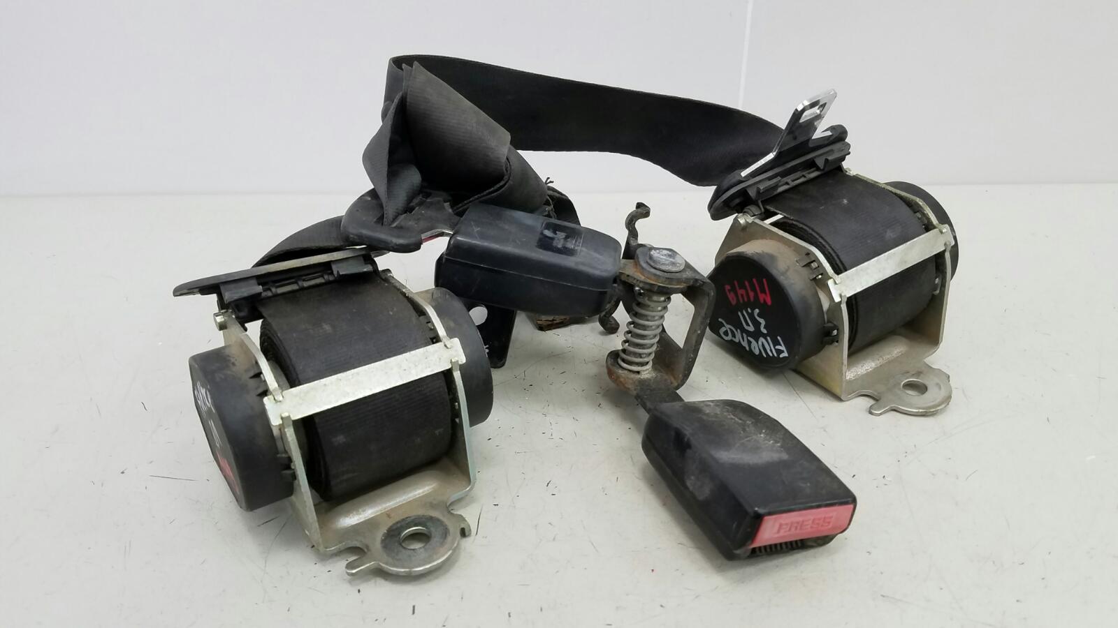 Ремень безопасности с пиропатроном Renault Fluence L30 K4M 2012 задний