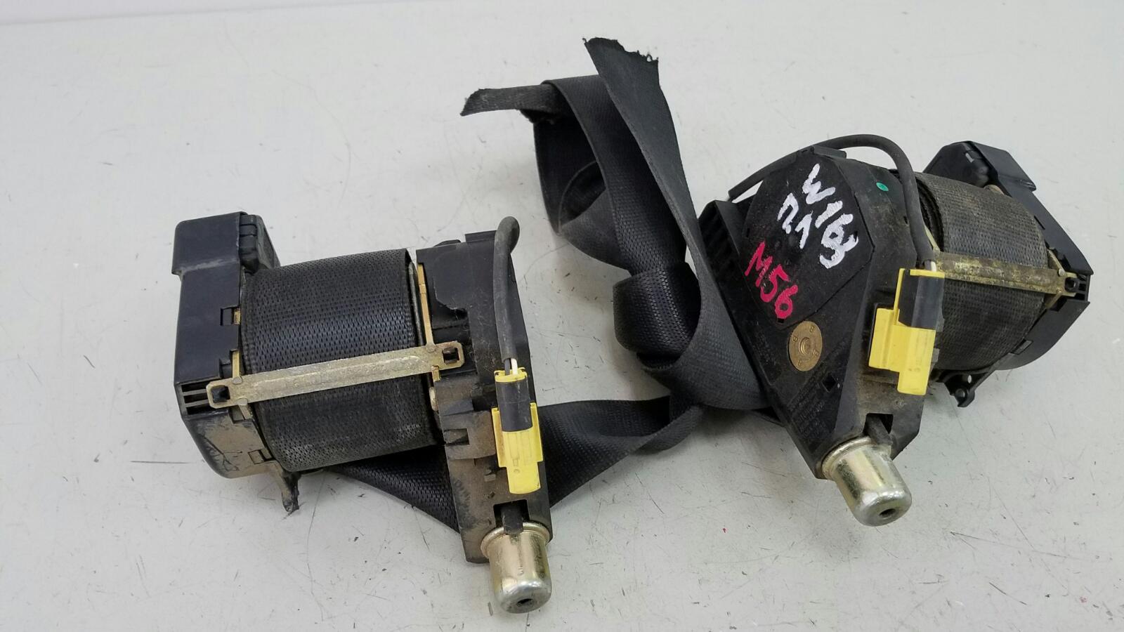 Ремень безопасности с пиропатроном Mercedes Ml430 W163 M113.942 1999 передний